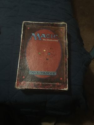 Magic TG Deckmaster (1995) and extra booster pack for Sale in Edgewood, WA