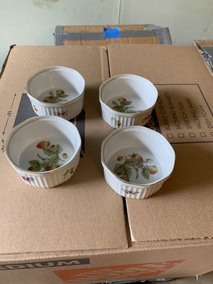 China Soufflé Dishes - Perfect Condition, Japan for Sale in Rockville, MD