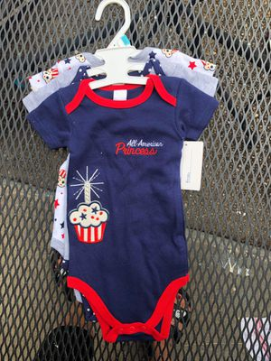 Girls onesies 6-9 months bnwt for Sale in Baltimore, MD