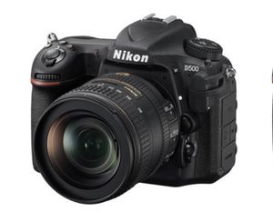Nikon D500 DSLR Camera with 16-80mm lens for Sale in North Wales, PA