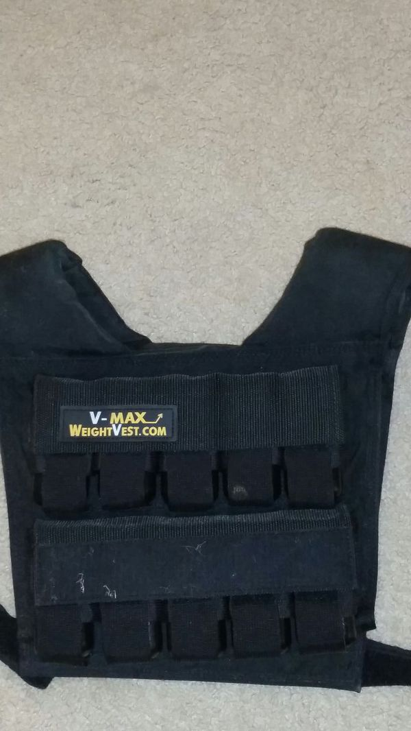 weighted workout vest!