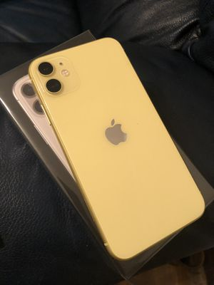 iPhone 11 yellow color unlocked to all carriers for Sale in Greenville, NC