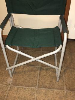 Green Aluminum Folding Chair for Sale in Everett,  WA