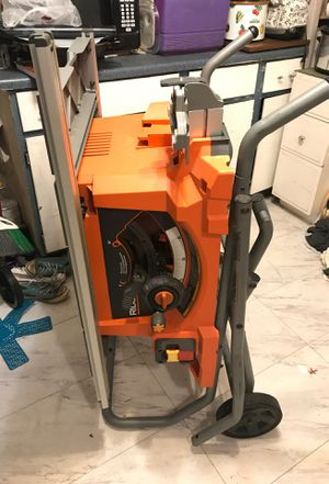 Ridgid table saw for Sale in Garland, TX
