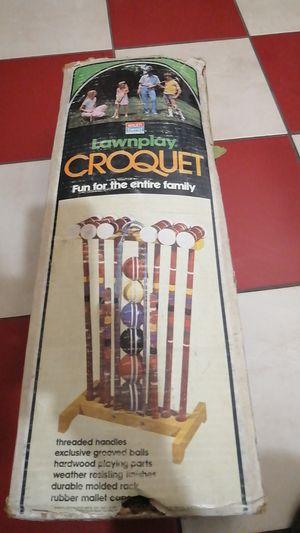 Six player set Croquet set for Sale in North Las Vegas, NV