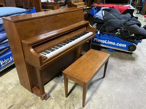 Yamaha piano upright p22 model made in Japan no plastic for Sale in Greenwich, CT