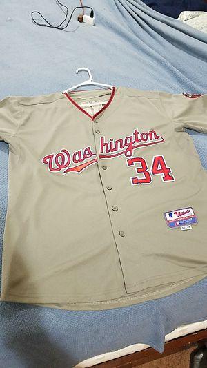 Washington Nationals Baseball Jersey for Sale in Gainesville, VA