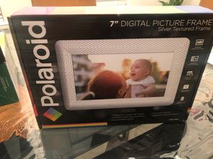 Polaroid Digital picture frame for Sale in Fort Worth, TX