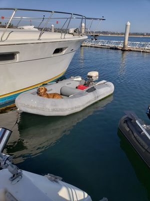 Inflatable boat and motor for Sale in San Diego, CA