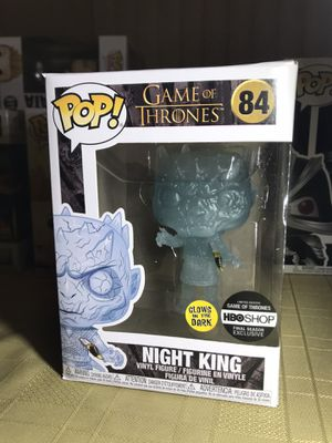 Funko Pop GITD glow in the dark Night King Game of Thrones for Sale in Glendale, CA