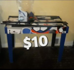 2 in 1 Hockey & Soccer Game Table for Sale in Chicago, IL