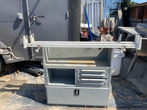Tool box and ladder rack for Sale in Los Angeles, CA