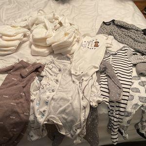 Free Newborn Clothes (boy) for Sale in Pomona, CA