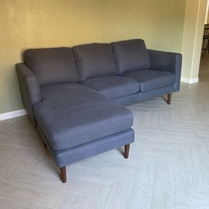 Modern Navy Blue Sectional FREE DELIVERY for Sale in Sun City West, AZ