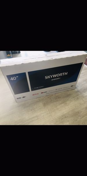 40 INCH SKYWORTH ANDROID SMART TV for Sale in Chino Hills, CA