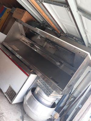 Restaurant ventilator hood/ restaurant fan for Sale in Chicago, IL