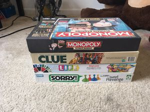 4 board games for Sale in Columbia, MO