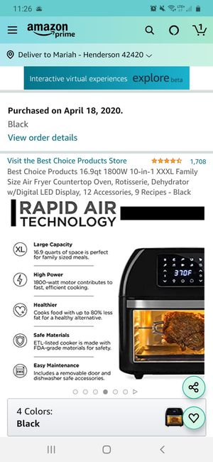 Air fryer for Sale in Henderson, KY