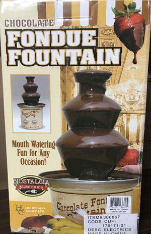 Fondue chocolate fountain for Sale in Waltham, MA