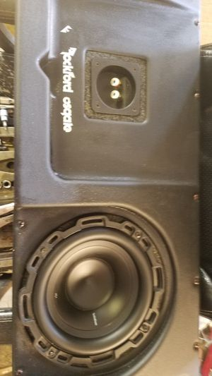 Rockford fosgate for Sale in Alliance, OH