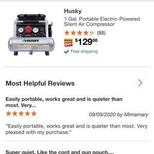 Husky Air Compressor for Sale in Red Oak, TX