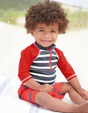 Used, NWT Baby Boden Rash Guard - 18m-24m for Sale for sale  Brooklyn, NY