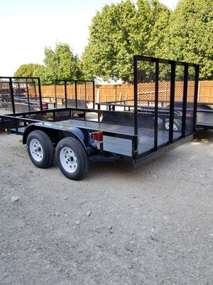 12x6 Angle Trailer With Tailgate (TRAILA ) for Sale in Mesquite, TX