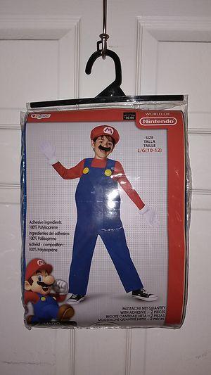 Nintendo Mario bros costume for Sale in Riverside, CA