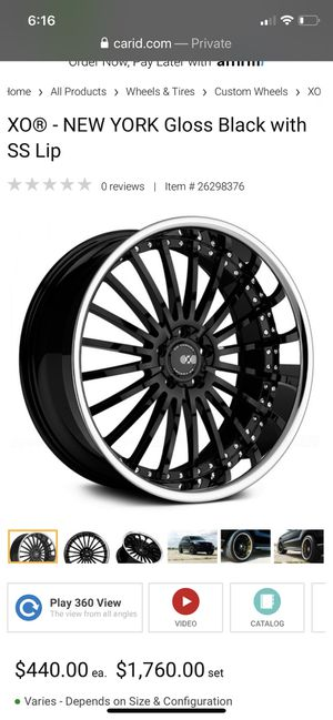 22 Inch rims and tires for Sale in Miami, FL