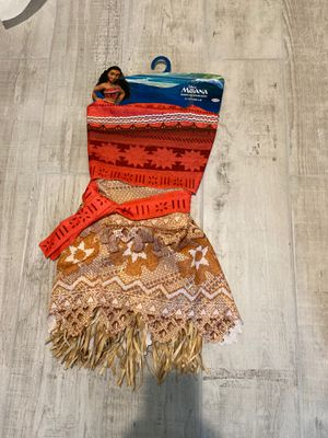 Disney Moana outfit size 4-6 for Sale in Tustin, CA