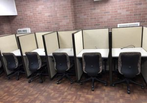 Office Cubicles - 2 sets of 6, 12 total for Sale in Largo, FL