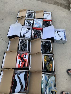 Jordans selling bulk and separate DM me for specific for Sale in Claremont, CA