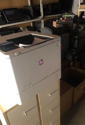 HP laser jet enterprise M607 like new condition Still 72% toner left for Sale in Tempe, AZ