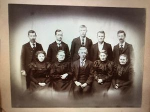 Antique funeral cabinet photo 10 x 8 pick up or free shipping for Sale in Lake Arrowhead, CA