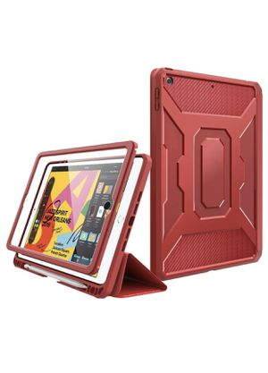 """MoKo Case Fit New iPad 7th Generation 10.2"""" 2019 / iPad 10.2 Case, [Built-in Screen Protector] Full-Body Shockproof Case Smart Shell Trifold Stand Co for Sale in Las Vegas, NV"""