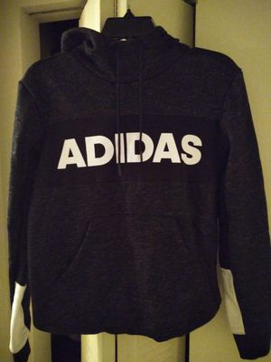 Brand New With Original Tags Attached Adidas Post Game Fleece Pullover Hoodie • Women's Size Small • Color- Black/White • Attached Drawstring Hoo $45 for Sale in Blackwood, NJ