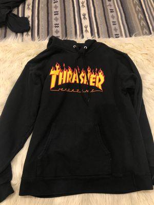 Thrasher adult black hoodie for Sale in Lakewood, CA
