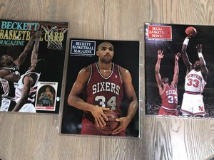 Three (3) Vintage Beckett Basketball Magazines for Sale in Del Monte Forest, CA