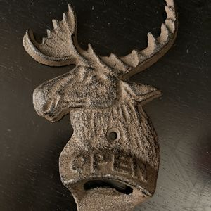 Cast iron Moose bottle opener for Sale in Hinsdale, IL