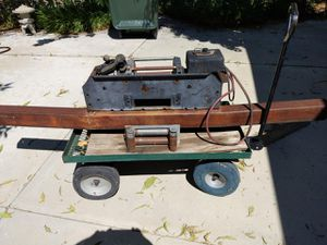 12000 lb winch with steel bumper for Sale in Calimesa, CA