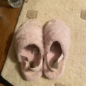 Pink ugg slip ons for Sale in Aspen Hill, MD