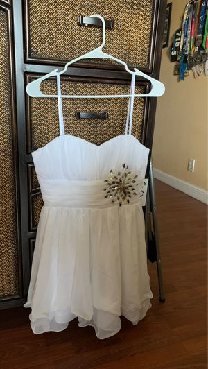 Brand New White Party/Prom Dress for Sale in Fort Lauderdale, FL