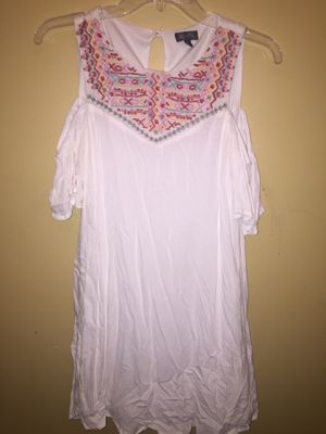 Lily Rose White & Multicolored Dress for Sale in Smyrna, TN
