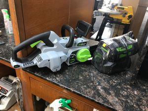 Ego Electric Chainsaw for Sale in Portland, OR