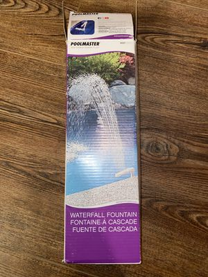 Poolmaster Swimming Pool And Spa Waterfall Fountain for Sale in Lancaster, PA