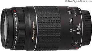 Canon 75-300mm Ef Lens Mint for Sale in Las Vegas, NV