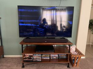 TV Stand with matching shelf, plus DVD holder for Sale in Gilbert, AZ