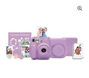 Fujifilm Instax Mini 7s Bundle Camera Case Film Album Holder Lavender for Sale in Union City, NJ