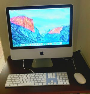 "iMac 20"" Desktop + 250 Hard drive for Sale in Sacramento, CA"
