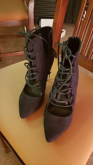 Aldo's boots high hills black string for Sale in Litchfield Park, AZ